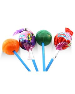 Assorted Bubble Gum Pops (2 Lbs)