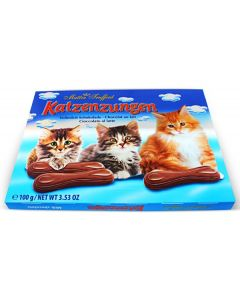 Milk Chocolate Catfingers 3.5oz Box (4 pcs)