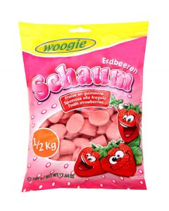Strawberry Yogurt Flavored Gummy 500g Bag (2 pcs)