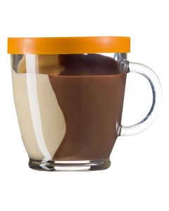 Hazelnut and Nougat Duo Spread 300gr Glass Cup (2 pcs)