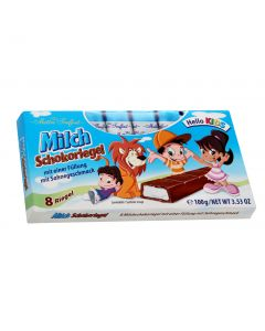 Milk chocolate with milk cream filling 100g