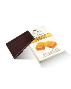 Milk Chocolate with Caramel 9g (35 pcs)