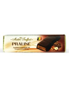 Dark Chocolate Filled Soft Nougat & Hazelnut bar 75g (5 pcs)