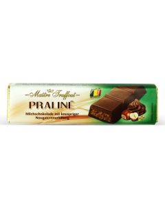 Milk Chocolate Filled Nougat & Crunchy Hazelnut bar 75g (5 pcs)