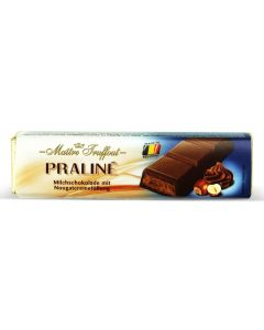 MIlk Chocolate Filled Soft Nougat & Hazelnut bar 75g (5 pcs)