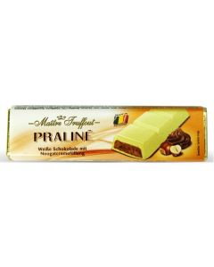 White Chocolate Filled Soft Nougat & Hazelnut bar 75g (5 pcs)