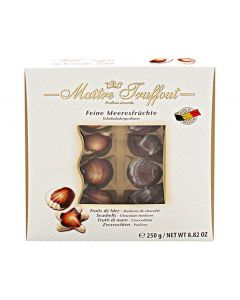 Belgian Chocolate Sea shells Pralines In Fancy Box 250g (2 pcs)