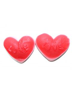 Red And Pink Heart Gummi (Sweethearts Kart) (2 Lbs)