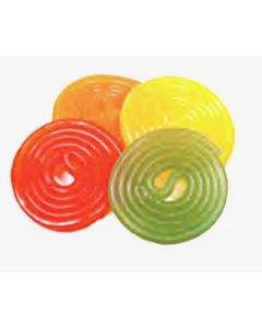 Assorted Fruit Wheels (Rotella Fruit) (2 Lbs)