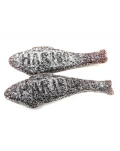 Haribo Salty Black Licorice Herring (Salt Sild) (2.200 Lbs)