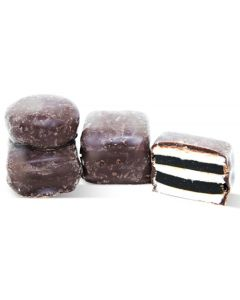Premium Dark Chocolate 60% Covered English Licorice AllSorts Made By Taveners (1.250 Lbs)