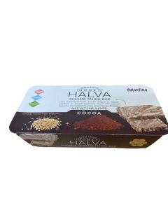 Honey Sesame Halva Marble With Cocoa Organic 75g (6 pcs)