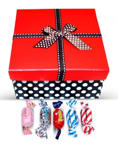 Valentine Finnish Sweet Delights in Mix Red Top Box w/Bow (1 pcs)