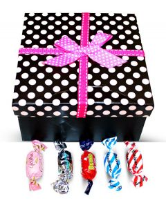Finnish Sweet Delights Mix Polka Dots Box w/Bow (1 pcs)