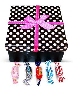 Finnish Sweet Delights Mix Polka Dots Box w/Bow (1 pcs)