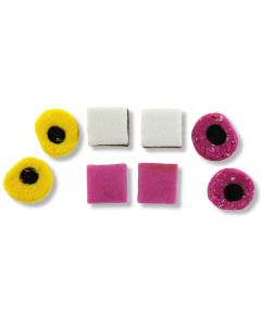 All Natural English Licorice AllSorts Made By Taveners (2 Lbs)