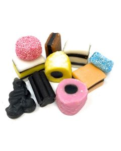 Bassett & Co English Licorice Allsorts The Original Since 1899 (2.200 Lbs)