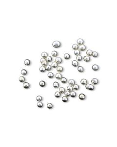 Beads - Silver 6MM Dragees (1 Lbs)