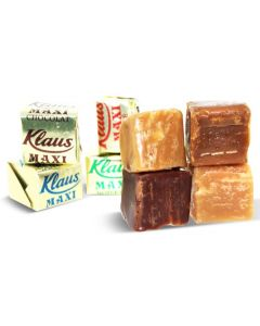 Maxi Assorted French Soft Caramels with Real Butter (1 Lbs)