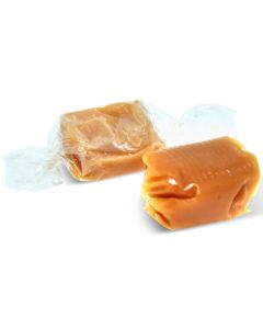 French Soft Salted Caramels with Real Butter From Salines des Bains (1 Lbs)