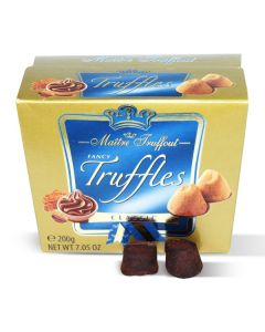 Fancy gold French truffles classic 200g Box (2 pcs)