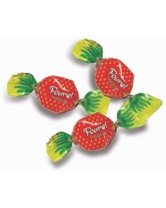 Greek Strawberry Filled Hard Candy (Fourel) (2 Lbs)