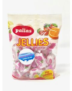 Greek Rose Water Soft Sugar Dusted Jellies 100g bag (6 pcs)
