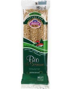 "Organic sesame Crunch bar ""Bio Sesame"" 40g (10 pcs)"