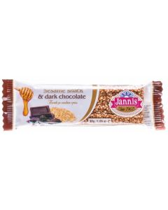 Sesame and Dark Chocolate Crunch Bar 30g (12 pcs)