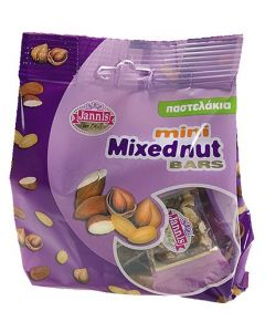 Mini Mixed Nut Crunch Bars 150g Bag (2 pcs)