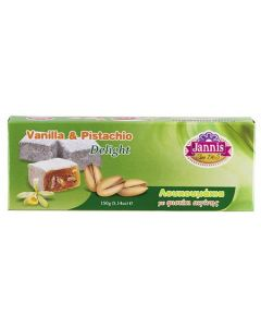 Pistachio and Vanilla Greek Delight 150g Box (2 pcs)