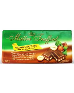 German Milk chocolate with hazelnut Bar 100g (5 pcs)