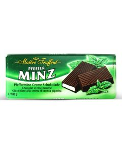 German Dark chocolate with peppermint Bar 100g (5 pcs)