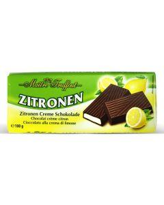 German Dark chocolate with lemon cream Bar 100g (5 pcs)