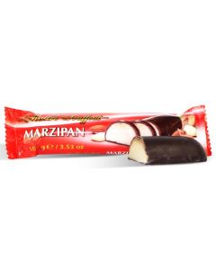German Marzipan bar with dark chocolate 100g (10 pcs)