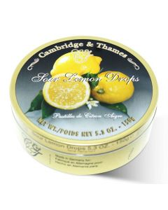 Sour Lemon Candy Drops Tin (2 pcs)