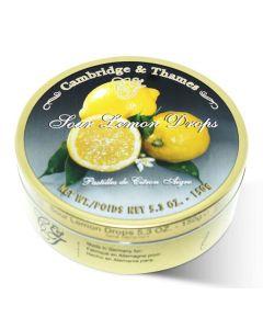 Sour Lemon Candy Drops Tin (2 pcs)