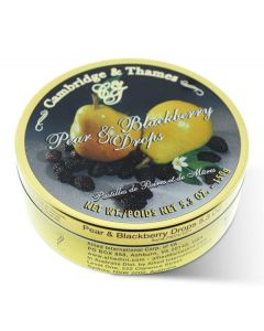 Pear & Blackberry Candy Drops Tin (2 pcs)
