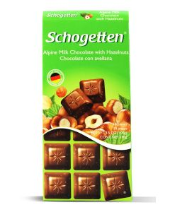 Alpine Milk Choc Hazelnuts 3.5oz (5 pcs)