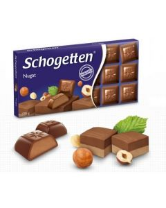 nougat chocolate 100g (5 pcs)
