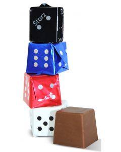 Milk Chocolate Dice Asst Foils 0.35oz (20 pcs)