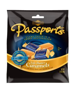 Passports Soft Butter Caramels 3.5oz bag (5 pcs)