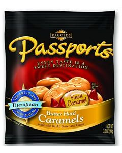 Passports Butter Hard Candy 3.5oz bag (5 pcs)