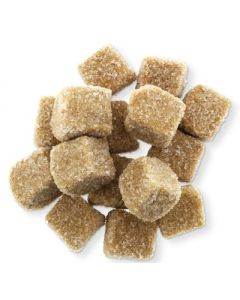 Griotten Sugar dusted Licorice Gummy Cubes (2 Lbs)