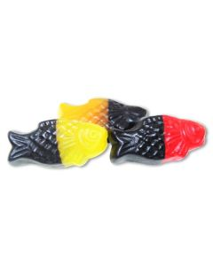 Licorice and Gummi Neon Guppies (2 Lbs)