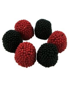 Red & Black Raspberries gummi (2 Lbs)