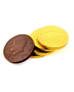 MIlk Chocolate Gold Coins 1.5In (1 Lbs)