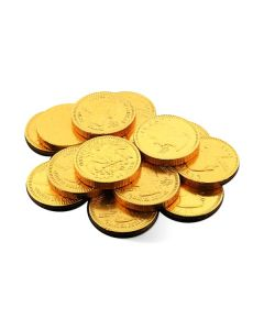 MIlk Chocolate Gold Coins 1.1In (1 Lbs)