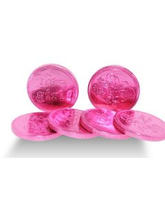 Pink Its A Girl Milk Choc Coins (1 Lbs)