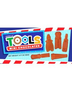 Mini Milk Chocolate Tools (6 pcs)